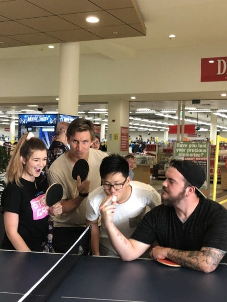 Table Tennis / Ping Pong Morwell @ Midvalley (Centre Court near Muffin Break)