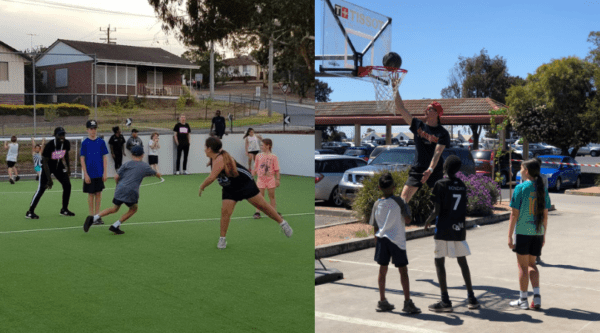 Street Soccer and 3x3 Basketball Morwell @ Morwell Park Primary School