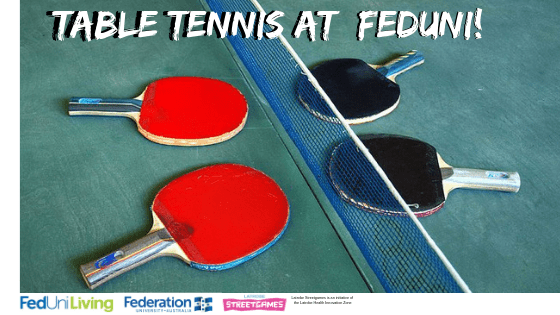 Feduni Table Tennis @ Feduni Churchill